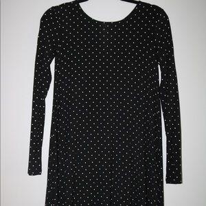 Black and White polka dot oldnavy dress size: XS